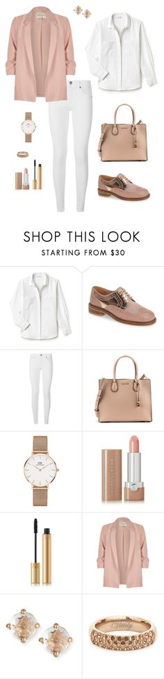 """Untitled #285"" by bajka2468 ❤ liked on Polyvore featuring Lacoste, Seychelles, Burberry, Michael Kors, Daniel Wellington, Marc Jacobs, Yves Saint Laurent, River Island and Suzanne Kalan"
