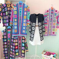 522 Origin Connection Time-Out - Diy Crafts Crochet Coat, Crochet Jacket, Crochet Cardigan, Crochet Granny, Cute Crochet, Beautiful Crochet, Crochet Clothes, Hippie Crochet, Cardigan Pattern