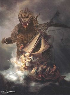 (citystompers:   Godzilla in Galilee)