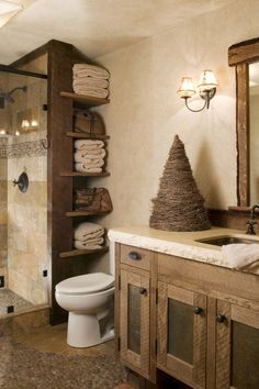 Simple and Ridiculous Tricks: Bathroom Remodel Vintage Toilets master bathroom remodel stone.Bathroom Remodel Decor Walk In Shower basement bathroom remodel storage spaces.Bathroom Remodel Before And After Interior Design. Bad Inspiration, Bathroom Inspiration, Rustic Bathroom Decor, Rustic Shower, Rustic Nursery, Rustic Master Bathroom, Rustic Bathroom Designs, Bedroom Rustic, Kitchen Rustic