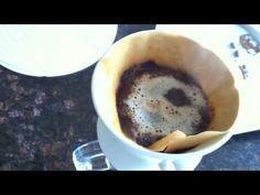 Making Hand Drip Coffee