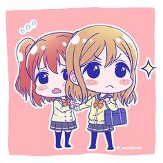 Love live sunshine Ruby and Hanamaru