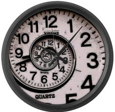 Spiral Face Large Wall Clock by CafePress. I love this I need this.
