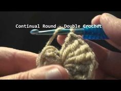 How to start the Continual Round - Crochet
