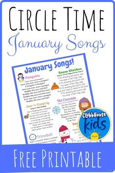 Circle Time Songs Winter