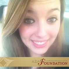 Kristen Pesavento, Theta Sigma, Suzannae Hebert Endowed Founders' Memorial Scholarship
