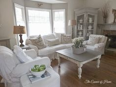 New Furniture Arrangement in Family Room by The Essence of Home