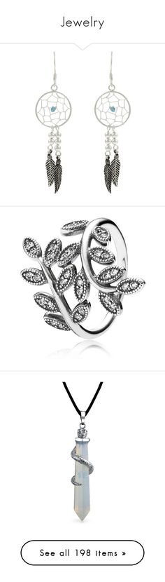 """""""Jewelry"""" by laceyleanne18 ❤ liked on Polyvore featuring jewelry, earrings, pocahontas, accessories, sterling silver earrings, sterling silver jewelry, earring jewelry, tressa, sterling silver jewellery and rings"""