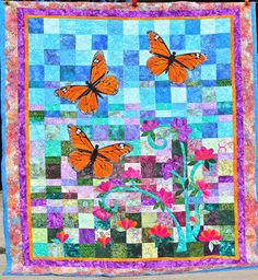 Monarch Butterfly Quilt