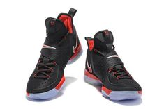bd840eaa62e1 Newest And Cheapest LeBron 14 XIV Bred Black University Red 2017 Lebron  James Sneakers Lebron James