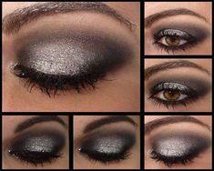 Smokey eyes: 17 tutoriales para hacerlos que amarás - Soy Moda - Famous Last Words Daytime Eye Makeup, Eye Makeup Glitter, Hooded Eye Makeup, Natural Eye Makeup, Natural Eyes, Blue Eye Makeup, Eye Makeup Tips, Makeup Ideas, Makeup Tutorials