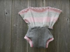 ReservedUpcycled Wool Hip Skirtie Soaker Cover Diaper by Myecobaby, $27.00