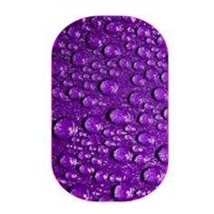 Purple Rain | Jamberry #CandiedJamsCustomDesigns #NAS #nailart #fashion #nailsofinstagram #nailstagram  #jamberry #nailwraps #jamberrynails #nailsoftheday #pretty #cute