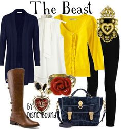 The beast outfit - by disneybound