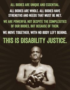 This Is Disability Justice by Nomy Lamm 2/6/15
