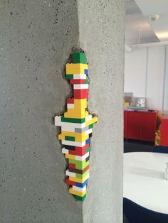 #LEGO bricks at the Idea House in LEGO Billund!