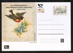 Neue Tschechische Briefmarkenausgaben am 04.03.2015 Die Tschechische Post gab am 04.03.2015 zwei neue Briefmarken und eine Postkarte zur 18. Internationalen Briefmarken-Börse in München 2015 heraus: http://sammler.com/bm/tschechien-neuausgaben.htm#04.03.2015