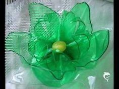 recycled plastic bottles flower by tamas kanya by on DeviantArt Plastic Spoon Art, Plastic Bottle Flowers, Reuse Plastic Bottles, Plastic Bottle Crafts, Recycled Bottles, Recycled Crafts, Bead Bottle, Flower Art, Creations