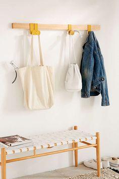 Wall hook coat hooks hallway, hallway walls, entryway hooks, coat h Coat Hooks Hallway, Diy Coat Hooks, Modern Coat Hooks, Modern Wall Hooks, Entryway Hooks, Hallway Walls, Coat Hanger, Wall Hanger, Coat Racks