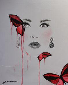 Peinture Acrylique - g.morrisseau
