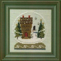 Bent Creek - Home in the Globe - Cross Stitch Kit