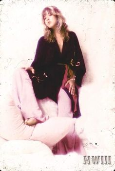 Dedicated to Stevie Nicks Beautiful Voice, Most Beautiful Women, Beautiful People, Look Vintage, Vintage Ladies, Members Of Fleetwood Mac, Buckingham Nicks, Stevie Nicks Fleetwood Mac, Stevie Ray Vaughan