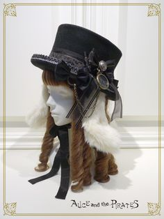 Alice and the Pirates White rabbit lop ear silk hat Ⅱ