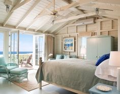 Inside a Rhode Island Beach House   Chic ideas for decorating your lake or beach home