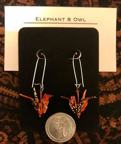 Bead Earrings, Seed Beads, Origami, Glass Beads, Elephant, Owl, Neon Signs, Messages, 21 Days