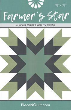 Farmers Star Quilt Pattern - PDF Version