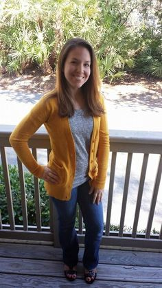 Stitch Fix Review February 2015 TCEC Donelle V-Neck Button Up Cardigan