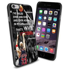 NBA Michael Jordan , Cool iPhone 6 Smartphone Case Cover Collector iphone TPU Rubber Case Black Phoneaholic http://www.amazon.com/dp/B00V2T31KY/ref=cm_sw_r_pi_dp_J8Gnvb10QABJ9