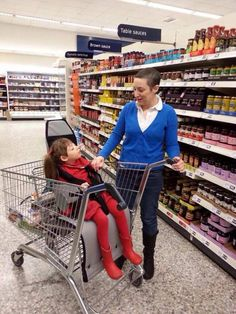 Supermarket Trolley Seat Campaign - -  we need these in the US