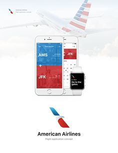 American Airlines app design on Behance Travel Icon, Travel Style, Fly App, Travel Tips With Baby, Vacation Packing, Vintage Travel Posters, Behance, Ui Design, Mobile App