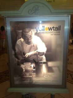 Yellowtail Japanese Restaurant & Lounge located in the @Bellagio - Executive Chef Akira Back