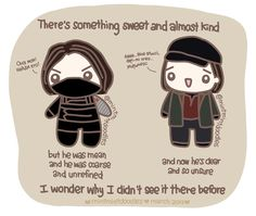 There may be something there that wasn't there before ♪ #BuckyBarnes #WinterSoldier #CAtWS #CACW #captainamericacivilwar #SebastianStan #mintmintdoodles