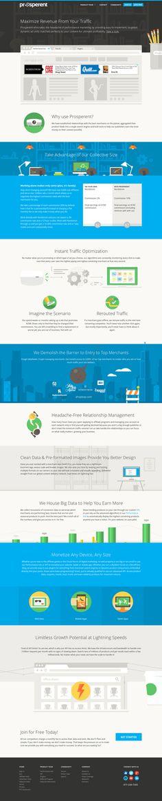 Prosperent #webdesign