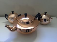 Glamaware Rose Gold Tea Set - $55