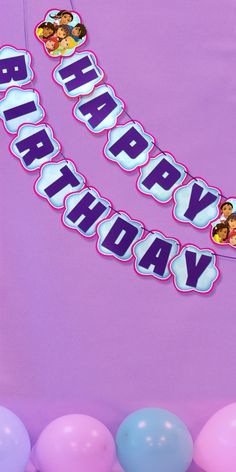 Happy Birthday Banners On Pinterest Birthday Banners