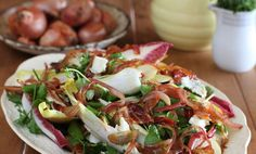 Raw Pear and Pancetta Salad - Maggie Beer, a Barossa Food Tradition