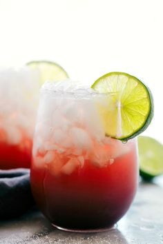 Sparkling Cherry Limeade Water: