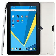 #computer 10.6'' Tablet IPS Screen 16GB Quad Core Bluetooth Android 4.4 Camera Refurbished please retweet