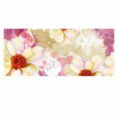 "East Urban Home 'Sweet Florist' Graphic Art Print on Metal Size: 16"" H x 20"" W x 1"" D"