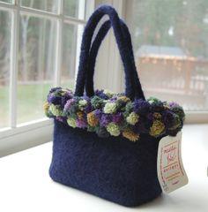 https://www.etsy.com ♡ this felt bag
