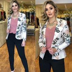 Trendy Casual Blazer Outfit Ideas For Woman Blazer Outfits Casual, Business Casual Outfits, Classy Outfits, Cute Outfits, Work Fashion, Fashion Looks, Fashion Outfits, Look Blazer, Professional Outfits