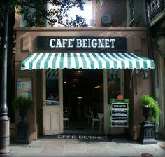 New Orleans, Cafe Beignet.  Mmmmm I can just imagine the aroma of coffee and the sweet taste of beignets!