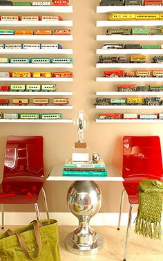 Long Narrow Shelves- would work for legos?
