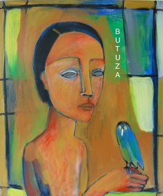 Swiss Artist Painter   Painted by Cathy Butuza #outisderart #artbrut #art #artist #artistic #painting #facesart #acrylic