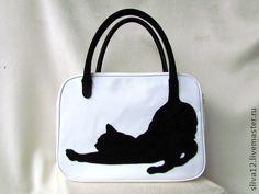 Sacs Tote Bags, Denim Tote Bags, Cat Purse, Cat Bag, Bag Pattern Free, Patchwork Bags, Leather Bags Handmade, Fabric Bags, Leather Handbags