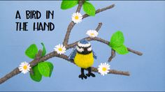 A Bird in the Hand, a knitting pattern book featuring cute and quirky hand knitted birds